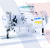 Juki Series DNU-1541-7 1-Needle, Unison-feed, Lockstitch Machine with Double-capacity Hook