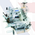 Juki Series MF-7900-E22/23 High-speed, Cylinder-bed, Top and Bottom Coverstitch Machine (endless spandex elastic band attaching)