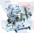 Juki Series MF-7500-E11 High-speed, Flat-bed, Top and Bottom Coverstitch Machine (elastic lace attaching with right hand fabric trimmer)
