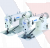 Juki Series MH-380 High-speed, Flat-bed, 2-needle Double Chainstitch Machine