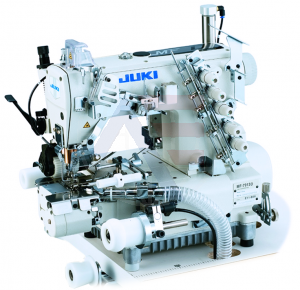 Juki Series MF-7900-E11 High-speed, Cylinder-bed, Top and Bottom Coverstitch Machine (elastic band attaching with right hand fabric trimmer)